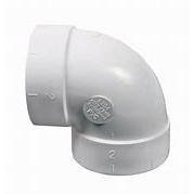 Valet 90 Degree Short Elbow White VAC 074