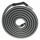Valet 9m Silver Hose with BEP, steel nozzle & screw cuff VAC 008